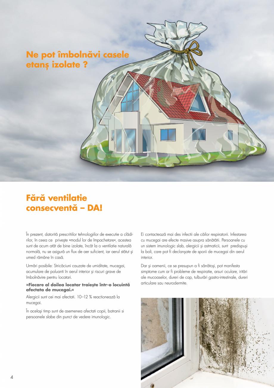Pagina 4 - Ventilatie cu recuperarea caldurii MAXXXCOMFORT Air Solitaire, BiVent, Air...