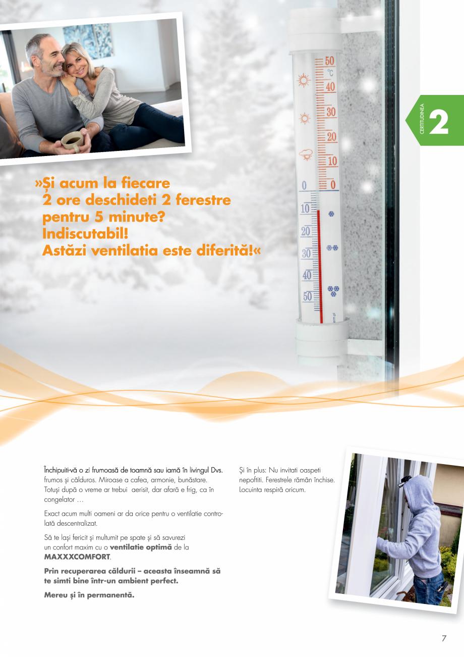 Pagina 7 - Ventilatie cu recuperarea caldurii MAXXXCOMFORT Air Solitaire, BiVent, Air...
