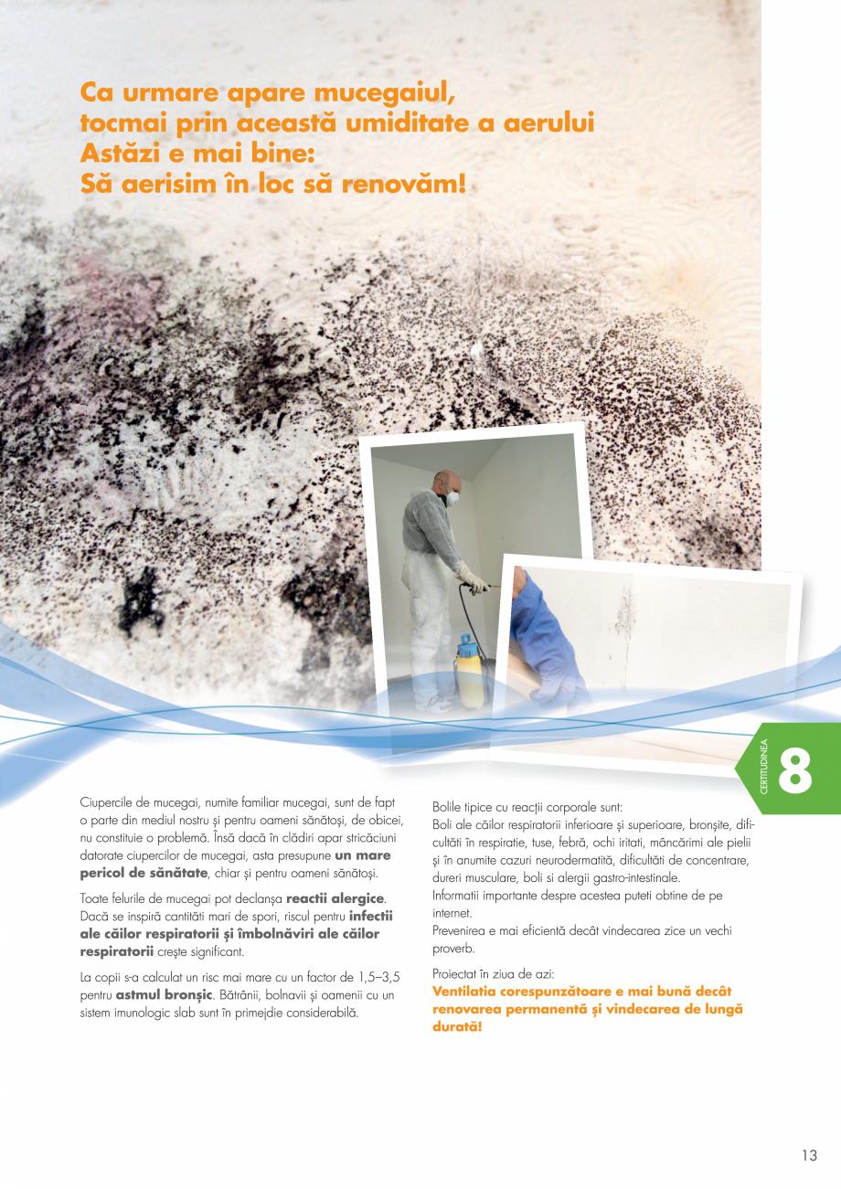 Pagina 13 - Ventilatie cu recuperarea caldurii MAXXXCOMFORT Air Solitaire, BiVent, Air...