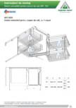 Sistem extractabil pentru corpuri de colt  ACCESORIA GROUP - Art 350
