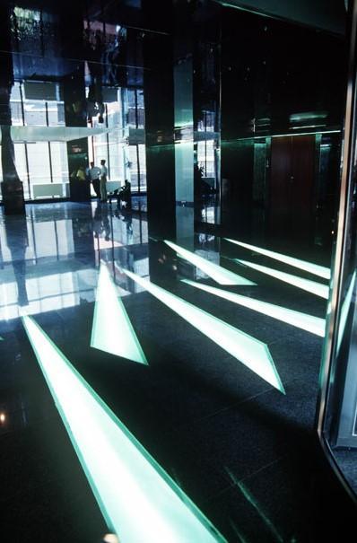 Sistem de iluminare  Alliantz Tiriac  Sistem de iluminare Alliantz Tiriac