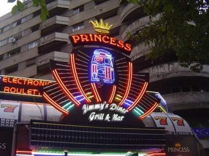 Sistem de iluminare Princess Casino  Sistem de iluminare Princess Casino