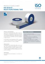 Banda precomprimata speciala pentru etansarea rosturilor ISO Chemie