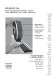 Instructiuni de montaj pentru banda multifunctionala speciala pentru etansarea rosturilor ISO Chemie - ISO-BLOCO One