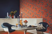 Tapet pentru living, dormitor, baie si bucatarie Calitatea fara compromisuri si adaptabilitatea continua la tendinte fac din tapetul Rasch alegerea perfecta pentru completarea unui design de interior special si personalizat.