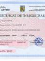 Certificat de inregistrare ORC pentru ECO AQUA DESIGN din 31.07.2020
