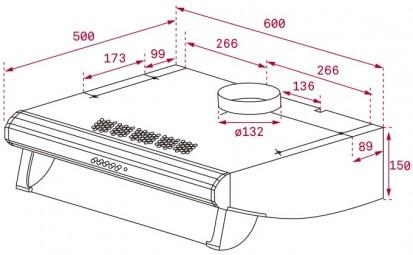 Hota traditionala C 6420 Dimensiuni