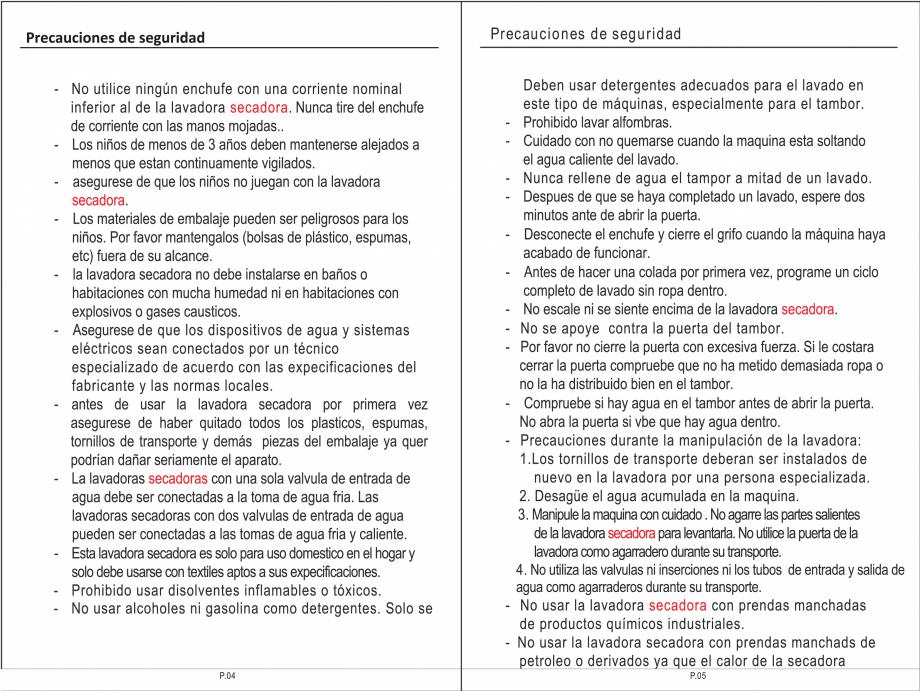 Pagina 18 - Masina de spalat rufe TEKA SPA TKD 1610 WD Instructiuni montaj, utilizare Engleza,...