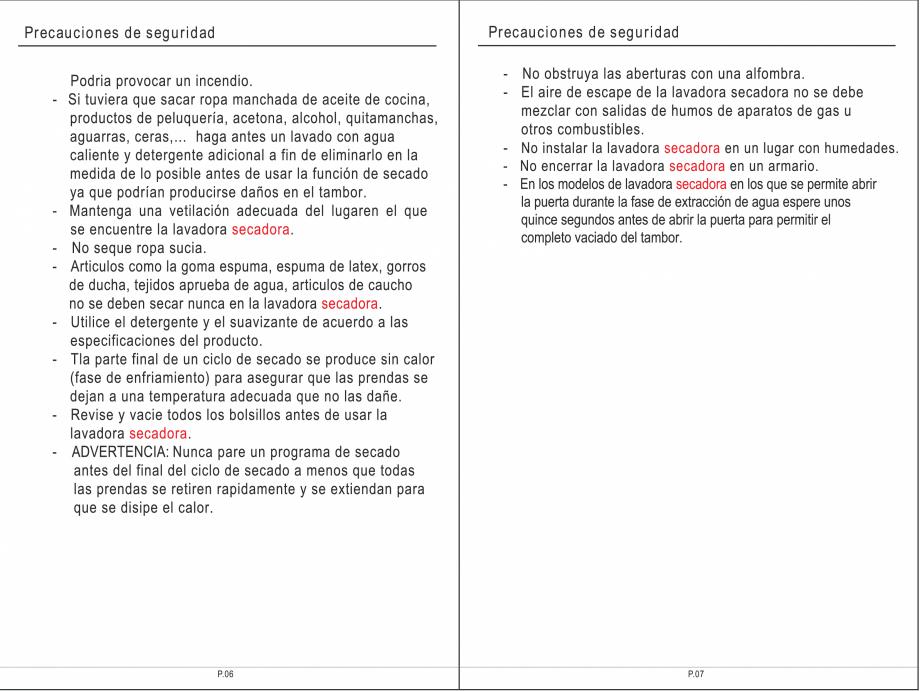 Pagina 19 - Masina de spalat rufe TEKA SPA TKD 1610 WD Instructiuni montaj, utilizare Engleza,...