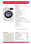 Masina de spalat rufe TEKA - SPA TKD 1480 WHITE