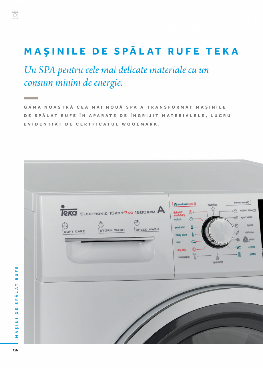 Pagina 3 - Masini de spalat TEKA HOT SPRING TK4 1270 INOX, LI3 1470 E, LSI4 1470 E, SPA TKD 1270...