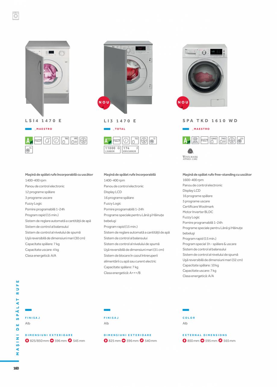 Pagina 7 - Masini de spalat TEKA HOT SPRING TK4 1270 INOX, LI3 1470 E, LSI4 1470 E, SPA TKD 1270...