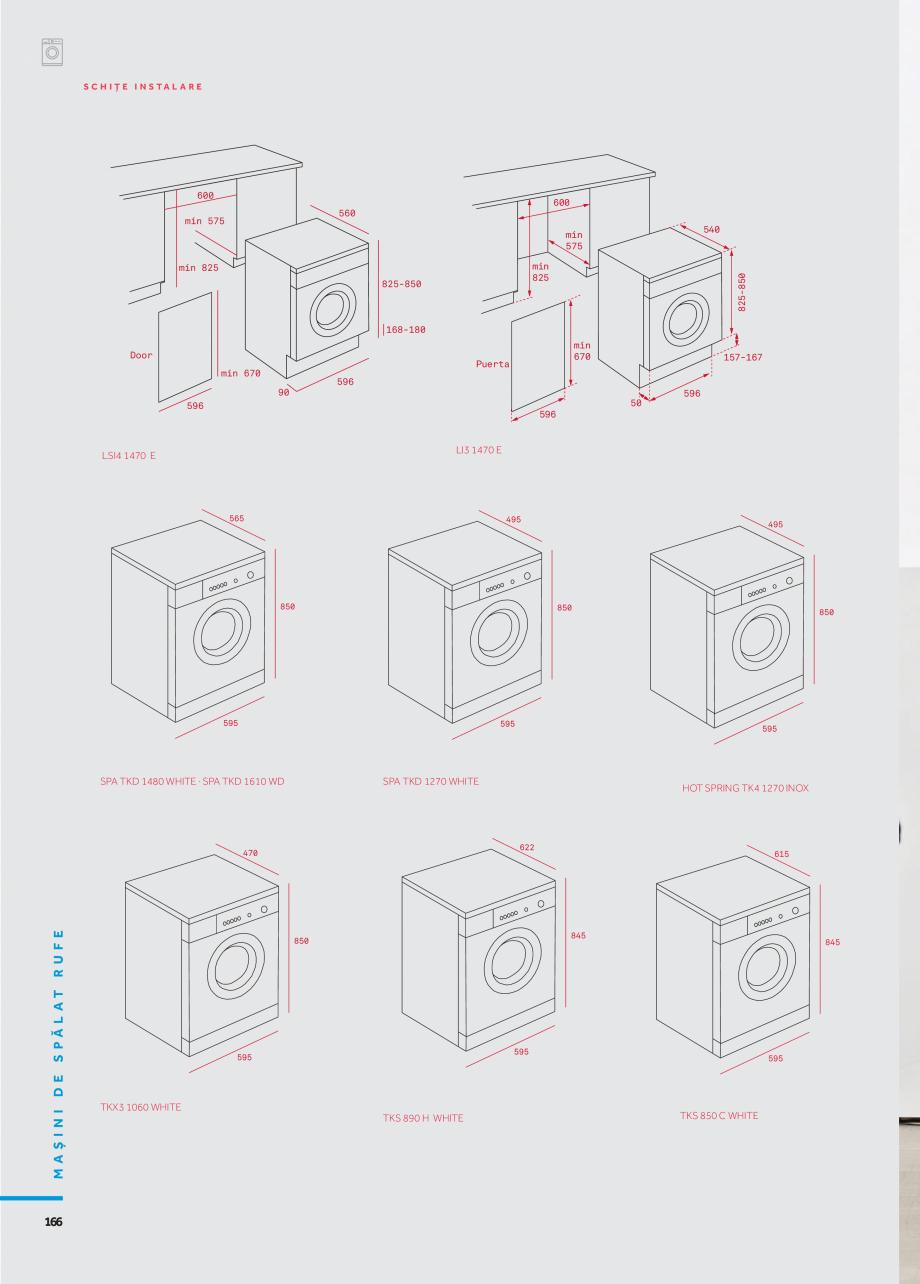 Pagina 13 - Masini de spalat TEKA HOT SPRING TK4 1270 INOX, LI3 1470 E, LSI4 1470 E, SPA TKD 1270...