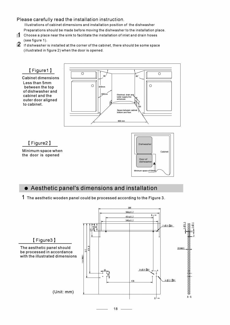 Pagina 20 - Masina de spalat vase TEKA DW8 55 FI Instructiuni montaj, utilizare Engleza