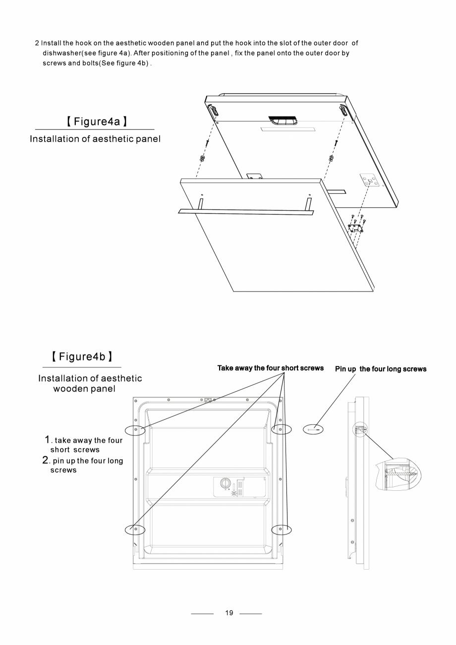Pagina 21 - Masina de spalat vase TEKA DW8 55 FI Instructiuni montaj, utilizare Engleza