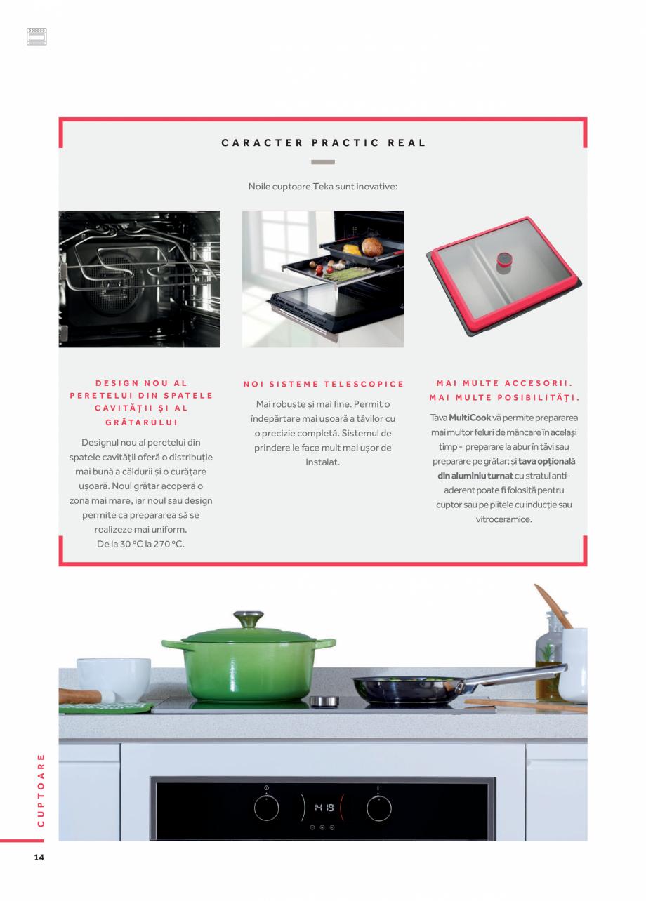 Pagina 5 - Cuptoare compacte, cu aburi TEKA CLC 855 GM, CP 15 GS, HLC 844 C, HLC 860 P, ML 822 BIS L...