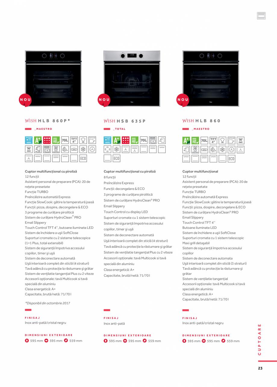 Pagina 14 - Cuptoare compacte, cu aburi TEKA CLC 855 GM, CP 15 GS, HLC 844 C, HLC 860 P, ML 822 BIS ...