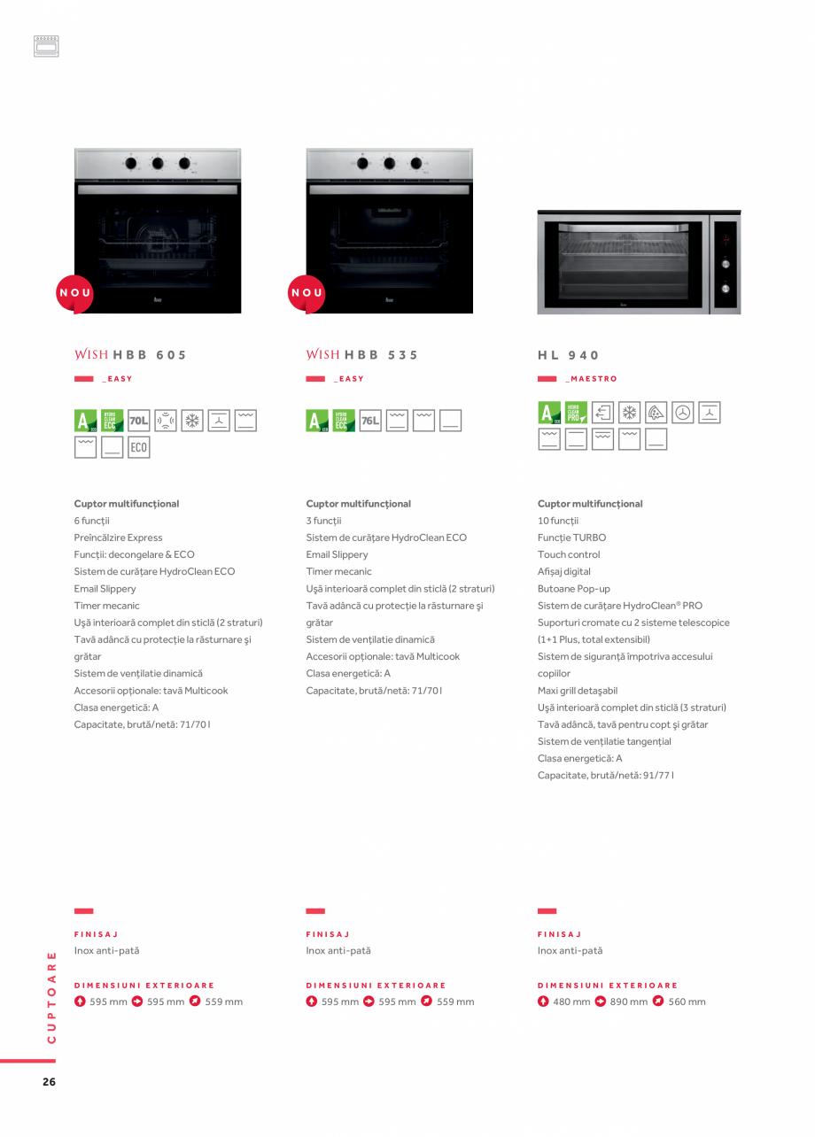 Pagina 17 - Cuptoare compacte, cu aburi TEKA CLC 855 GM, CP 15 GS, HLC 844 C, HLC 860 P, ML 822 BIS ...