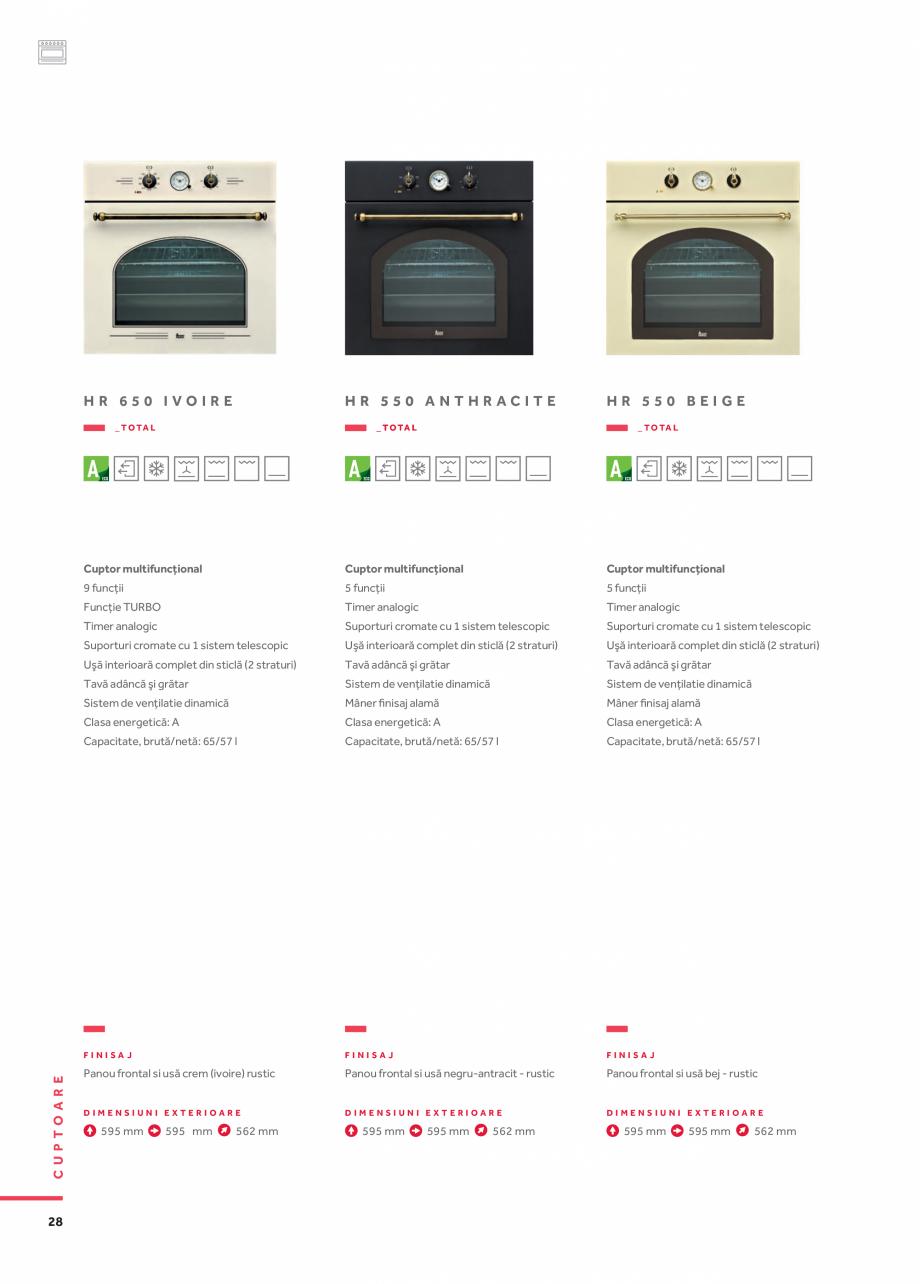 Pagina 19 - Cuptoare compacte, cu aburi TEKA CLC 855 GM, CP 15 GS, HLC 844 C, HLC 860 P, ML 822 BIS ...