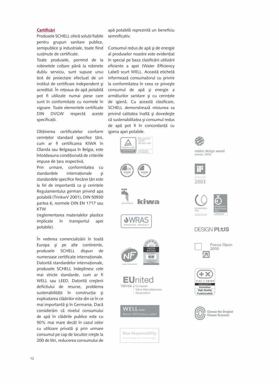 Pagina 14 - Schell - Catalog general - 2020-2021  Catalog, brosura Romana 097 06 99  2.19  01 933 28...