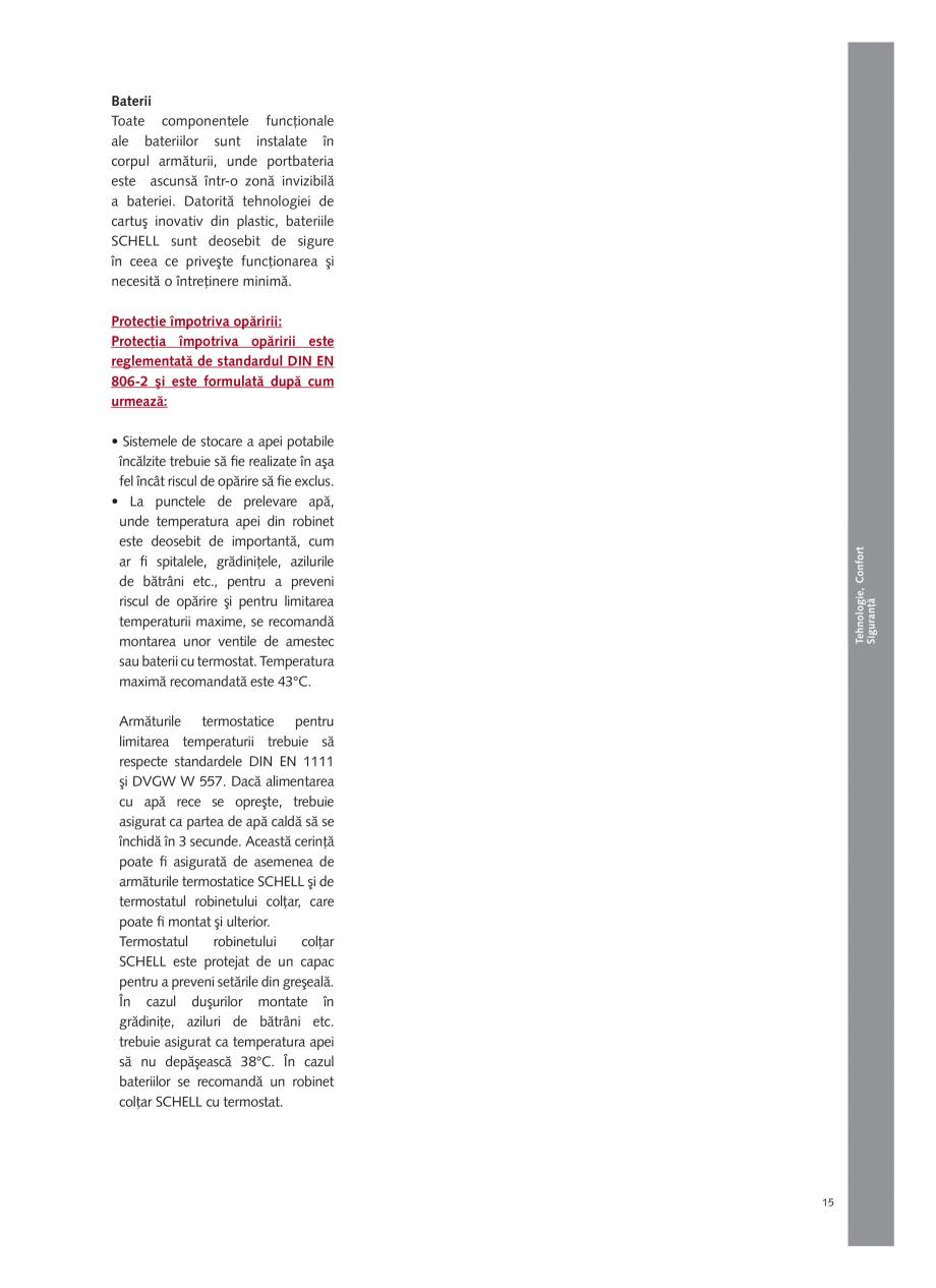 Pagina 17 - Schell - Catalog general - 2020-2021  Catalog, brosura Romana r pagină  Cod produs ...