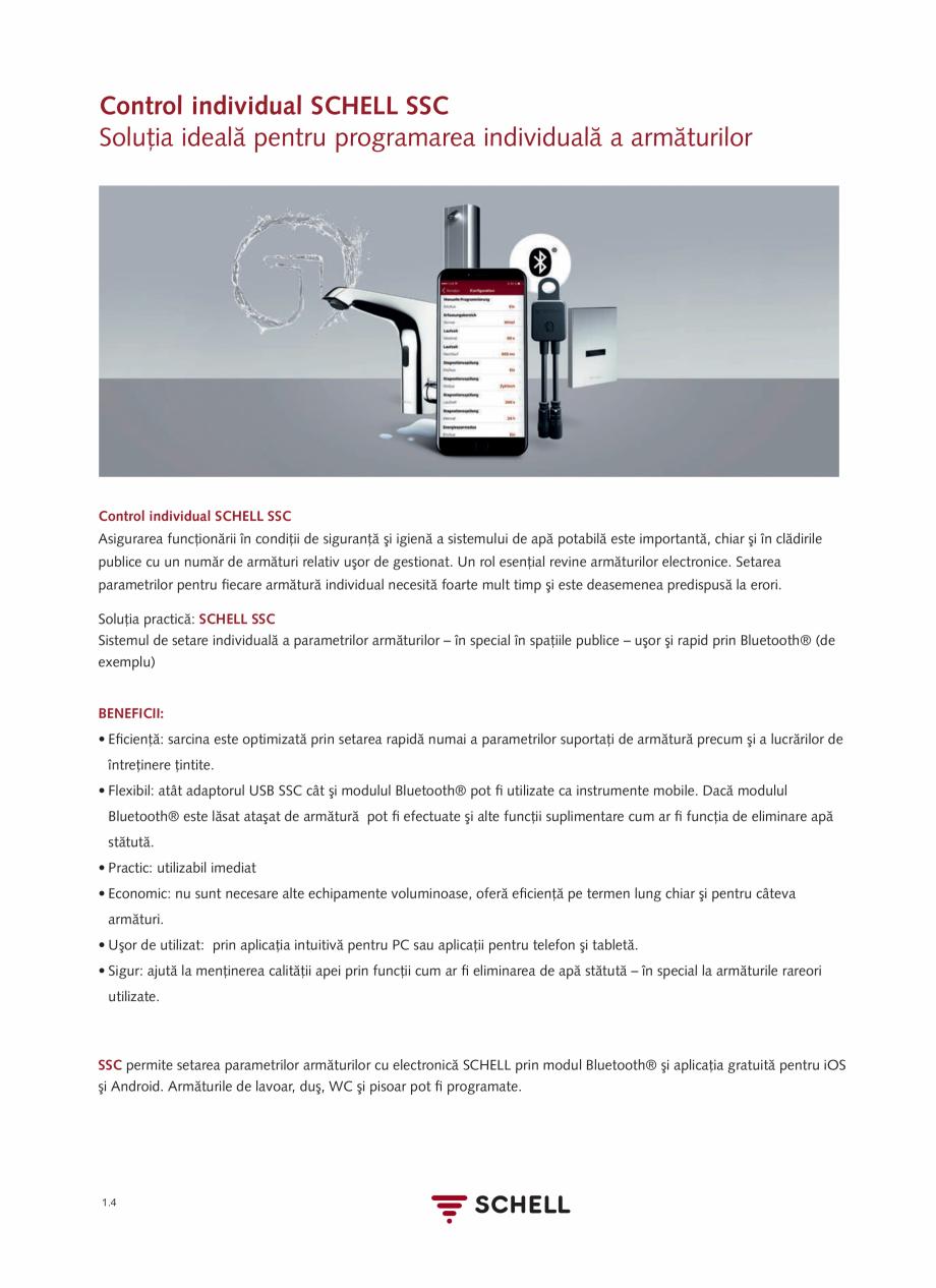 Pagina 22 - Schell - Catalog general - 2020-2021  Catalog, brosura Romana ncă din 2014 s-a...