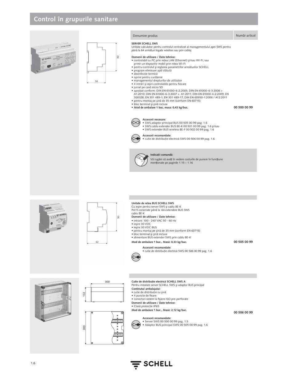 Pagina 24 - Schell - Catalog general - 2020-2021  Catalog, brosura Romana  reţea circulare şi în ...