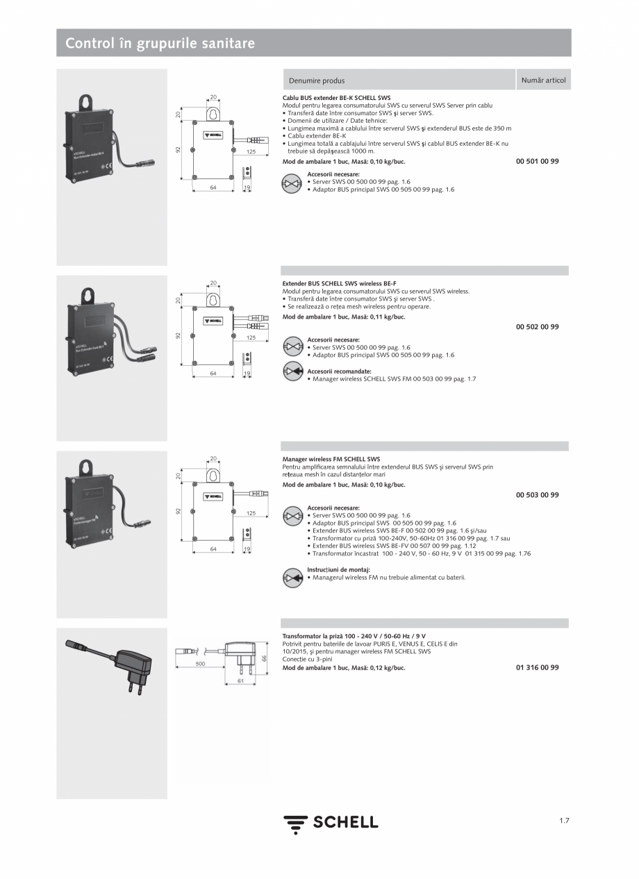 Pagina 25 - Schell - Catalog general - 2020-2021  Catalog, brosura Romana  reducem costurile în...