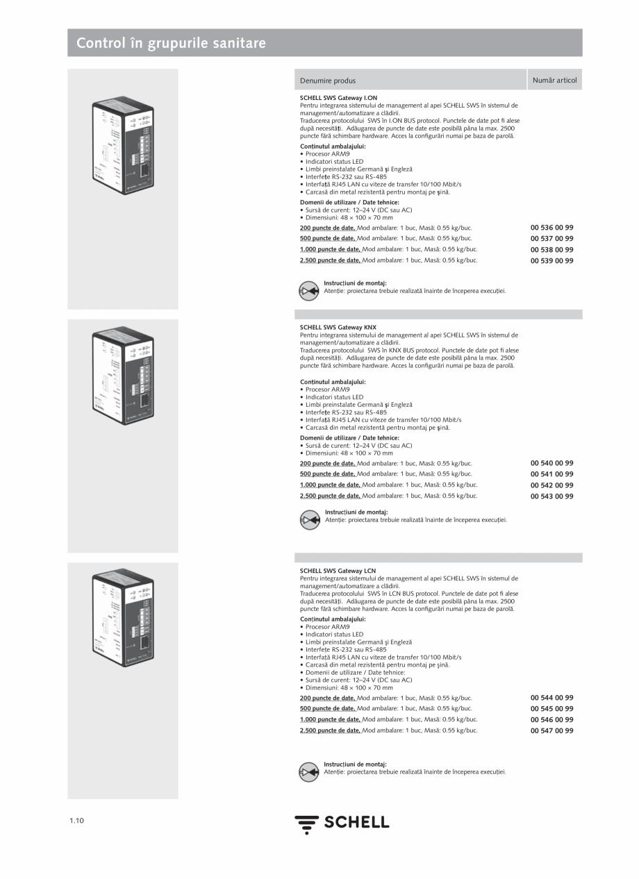 Pagina 28 - Schell - Catalog general - 2020-2021  Catalog, brosura Romana regăsesc într-o...