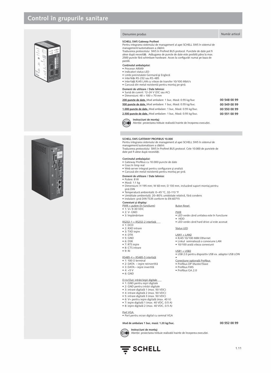Pagina 29 - Schell - Catalog general - 2020-2021  Catalog, brosura Romana nella, care depăşesc...