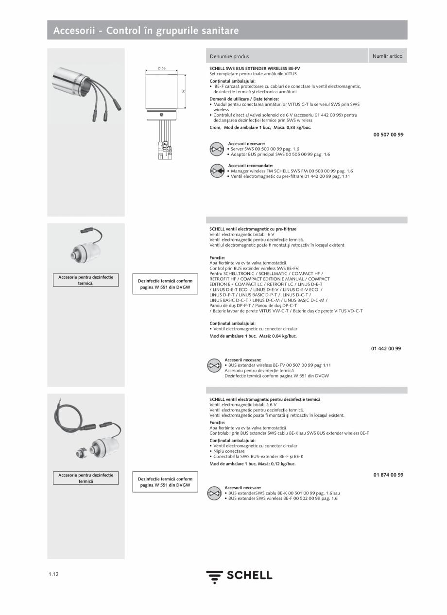 Pagina 30 - Schell - Catalog general - 2020-2021  Catalog, brosura Romana punctul de prelevare apă ...