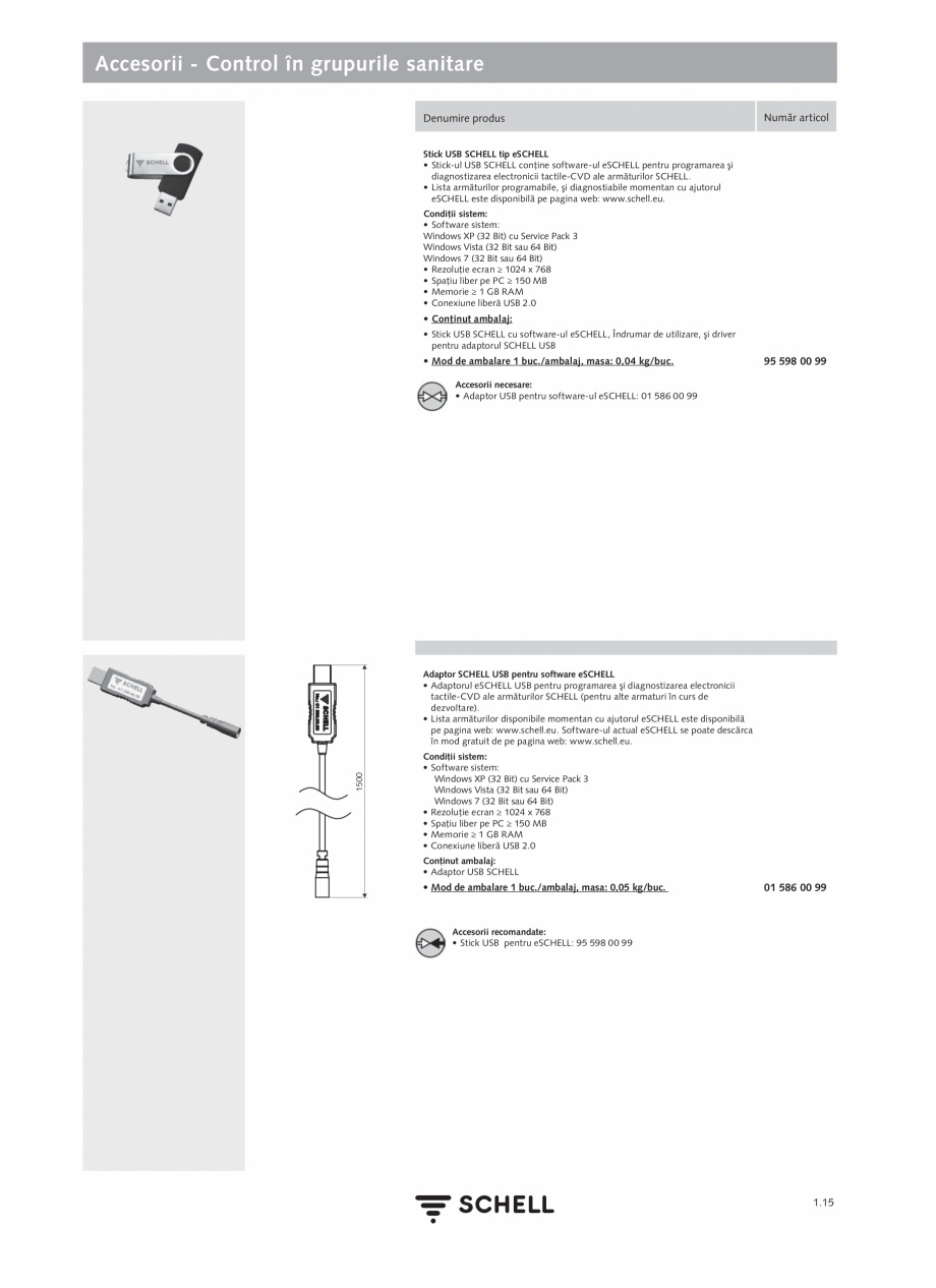 Pagina 33 - Schell - Catalog general - 2020-2021  Catalog, brosura Romana pradimensionării. În...