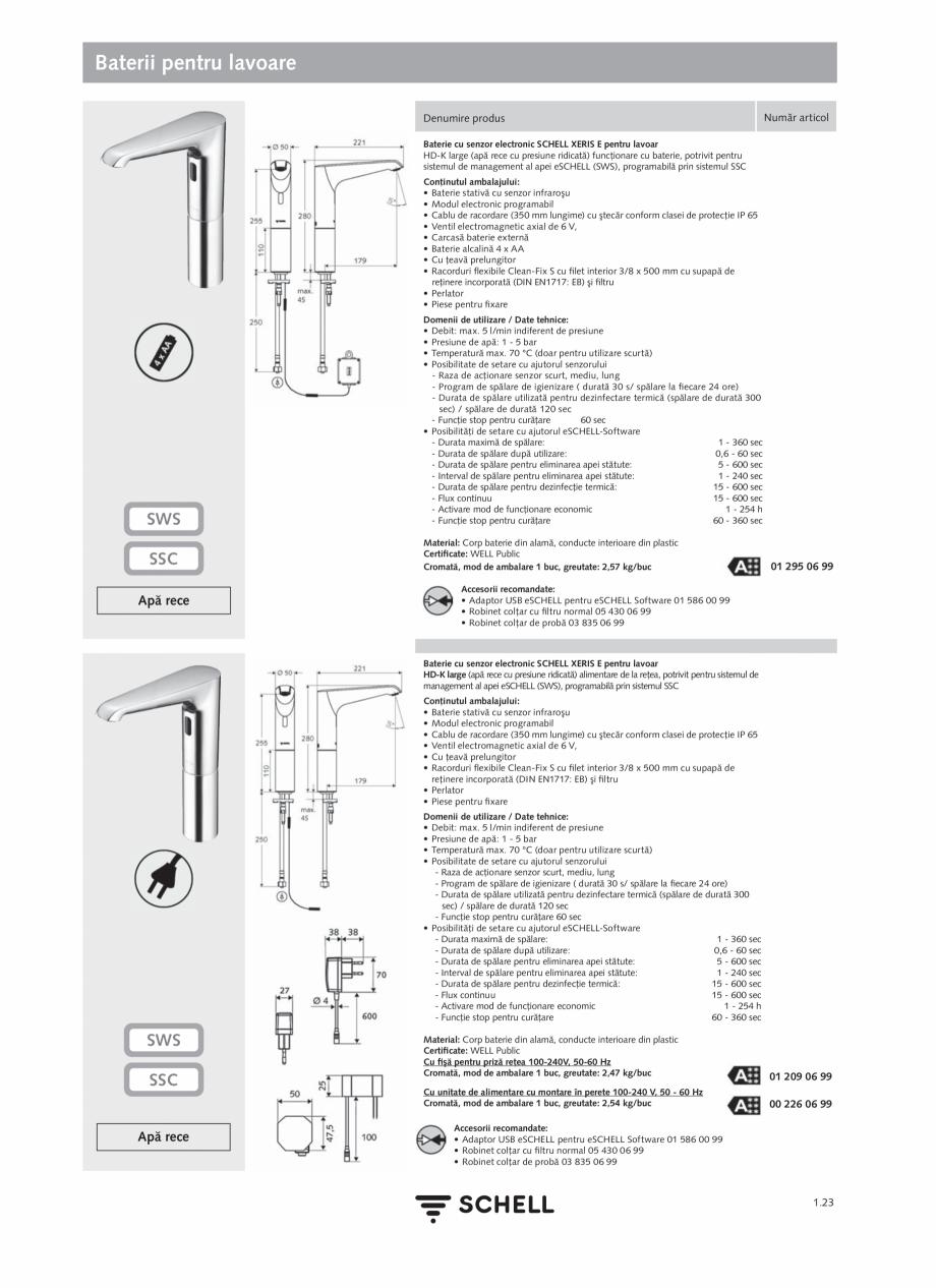 Pagina 41 - Schell - Catalog general - 2020-2021  Catalog, brosura Romana oferi o estimare cât mai ...