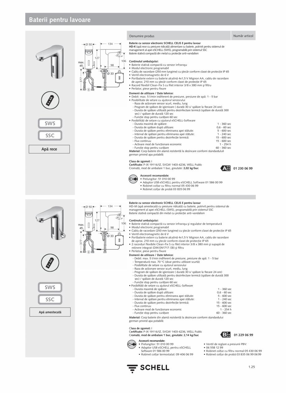 Pagina 43 - Schell - Catalog general - 2020-2021  Catalog, brosura Romana SCHELL este membru al...