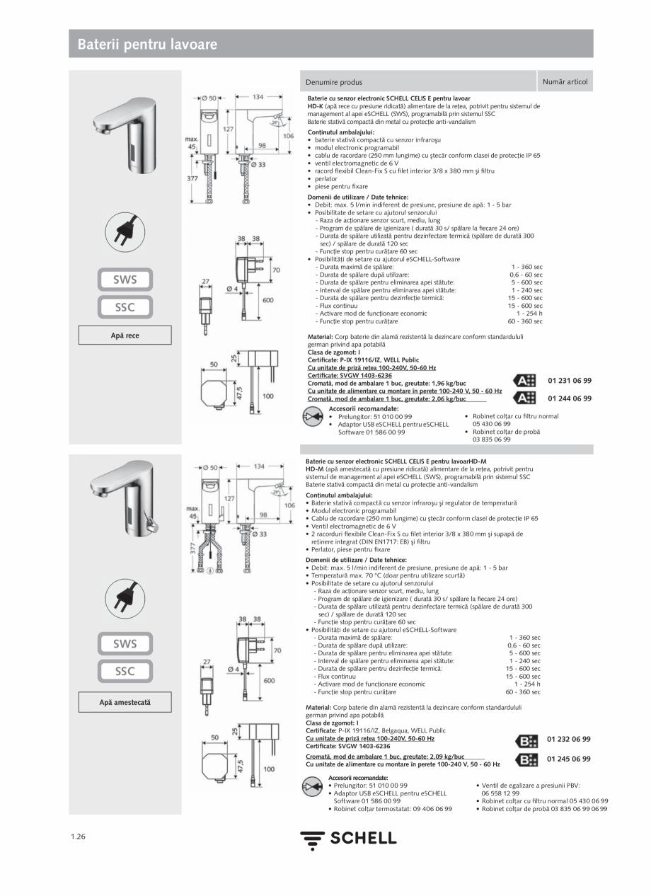 Pagina 44 - Schell - Catalog general - 2020-2021  Catalog, brosura Romana stătută în reţeaua de ...