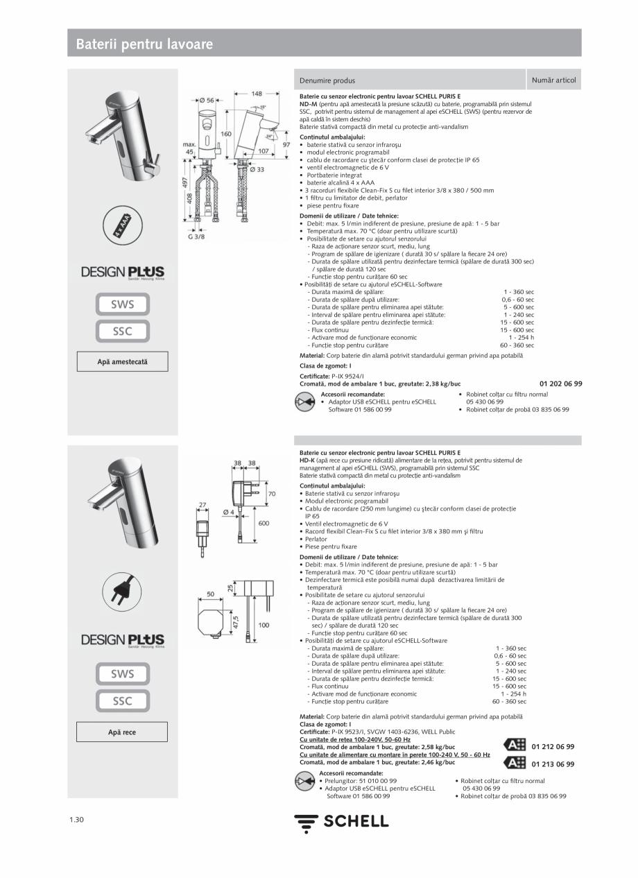 Pagina 48 - Schell - Catalog general - 2020-2021  Catalog, brosura Romana �ionale şi facilitează...