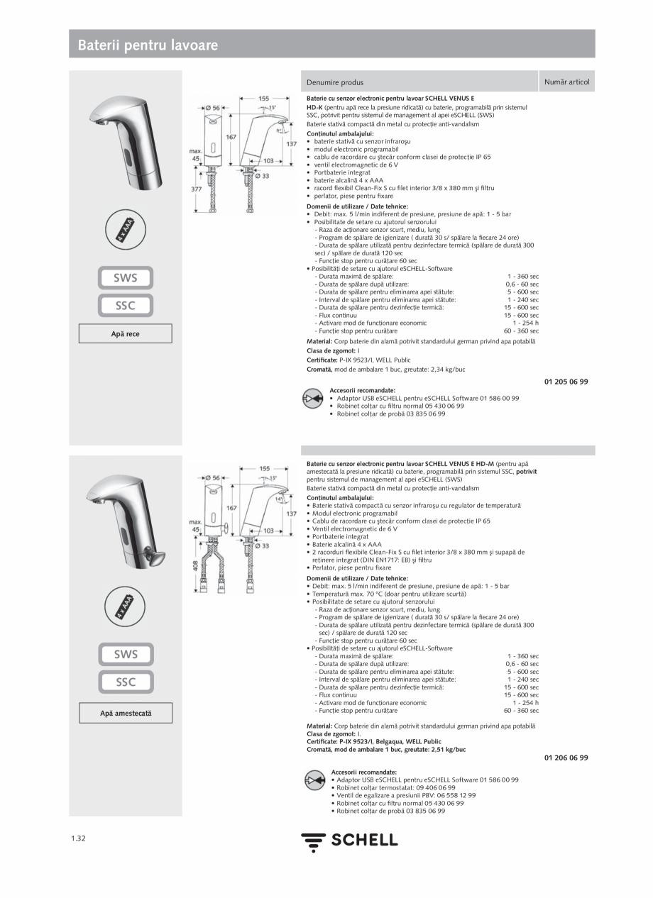 Pagina 50 - Schell - Catalog general - 2020-2021  Catalog, brosura Romana SCHELL SSC  1.4-1.5 ...