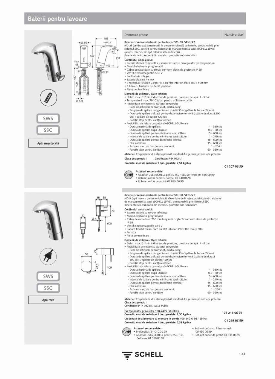 Pagina 51 - Schell - Catalog general - 2020-2021  Catalog, brosura Romana lă este operată igienic ...