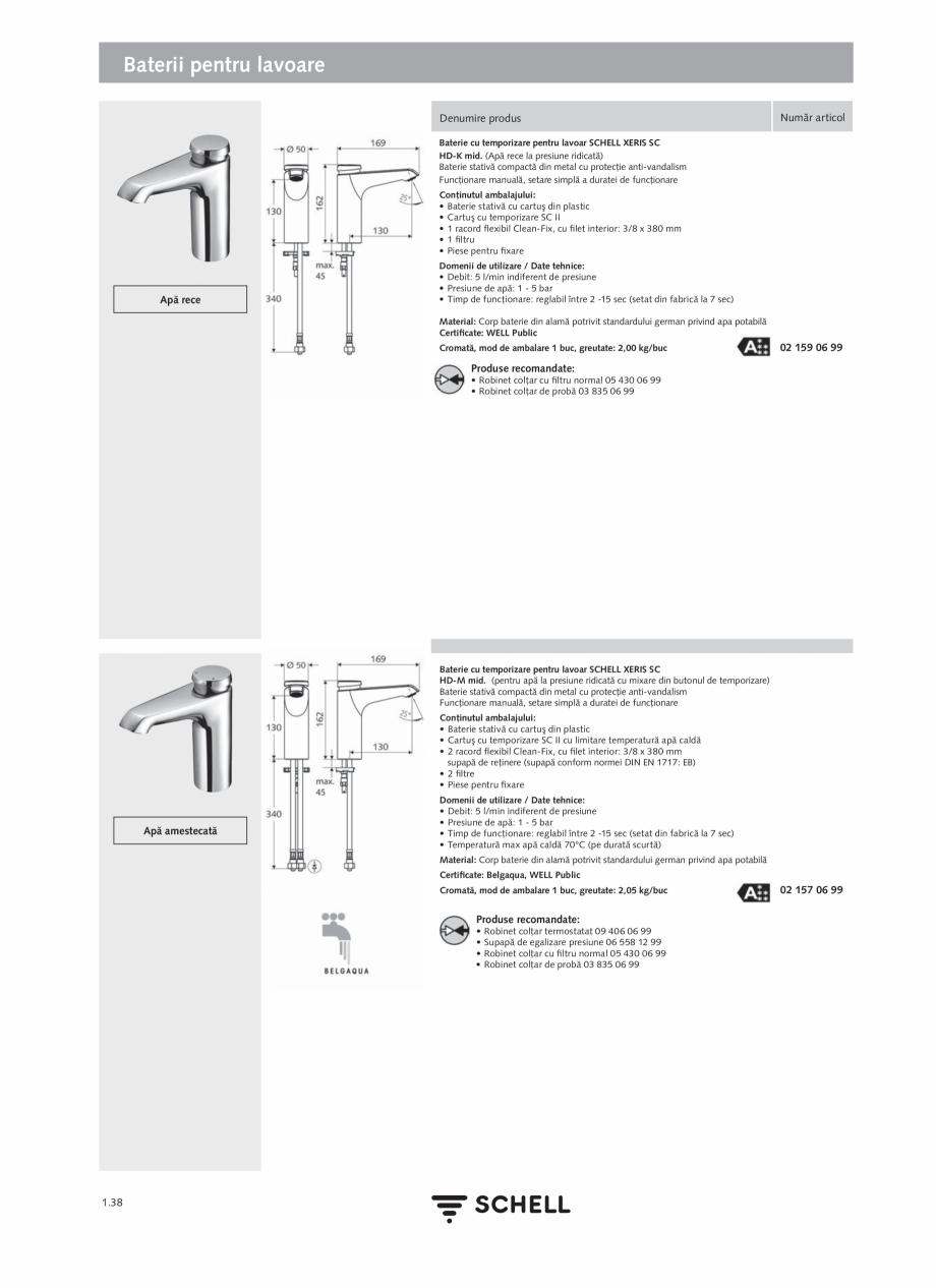 Pagina 56 - Schell - Catalog general - 2020-2021  Catalog, brosura Romana ectronice. Setarea...