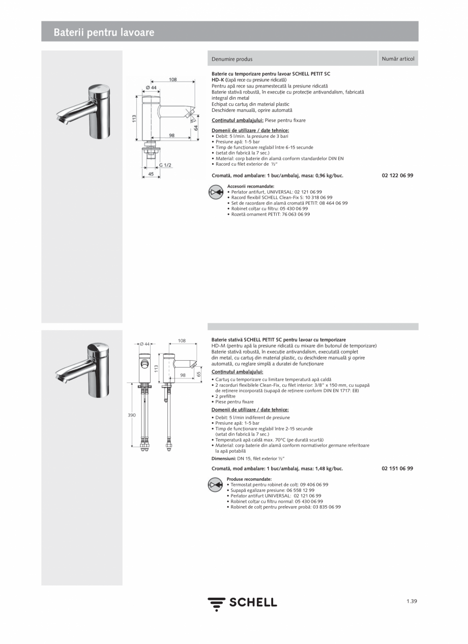 Pagina 57 - Schell - Catalog general - 2020-2021  Catalog, brosura Romana efon şi tabletă. •...
