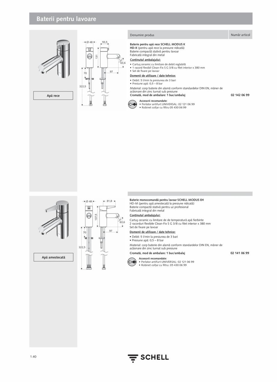 Pagina 58 - Schell - Catalog general - 2020-2021  Catalog, brosura Romana ia de curent. Instalarea...