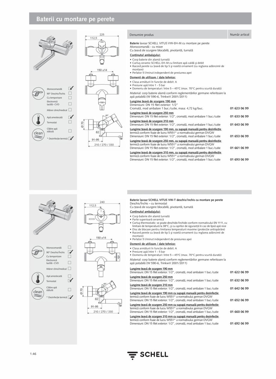 Pagina 64 - Schell - Catalog general - 2020-2021  Catalog, brosura Romana e management/automatizare ...