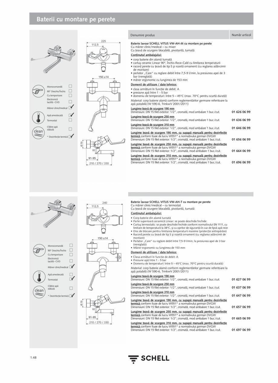 Pagina 66 - Schell - Catalog general - 2020-2021  Catalog, brosura Romana 70 mm 200 puncte de date, ...