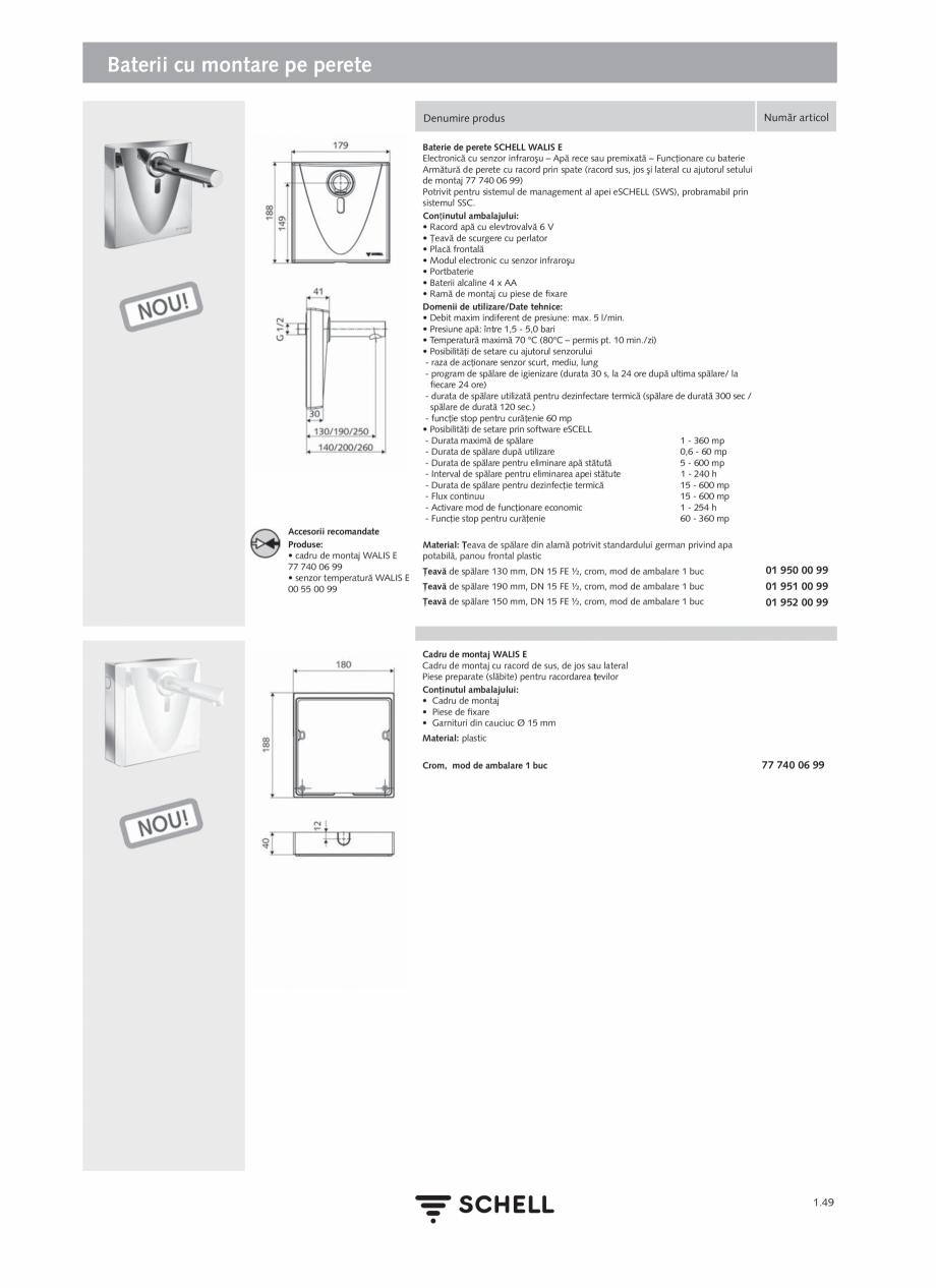 Pagina 67 - Schell - Catalog general - 2020-2021  Catalog, brosura Romana ansfer 10/100 Mbit/s •...