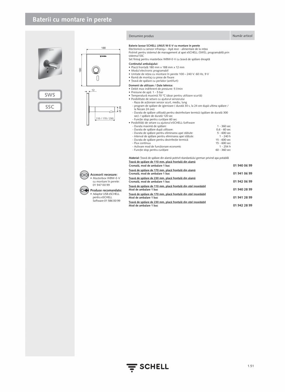 Pagina 69 - Schell - Catalog general - 2020-2021  Catalog, brosura Romana A 2.0 Pentru integrarea...