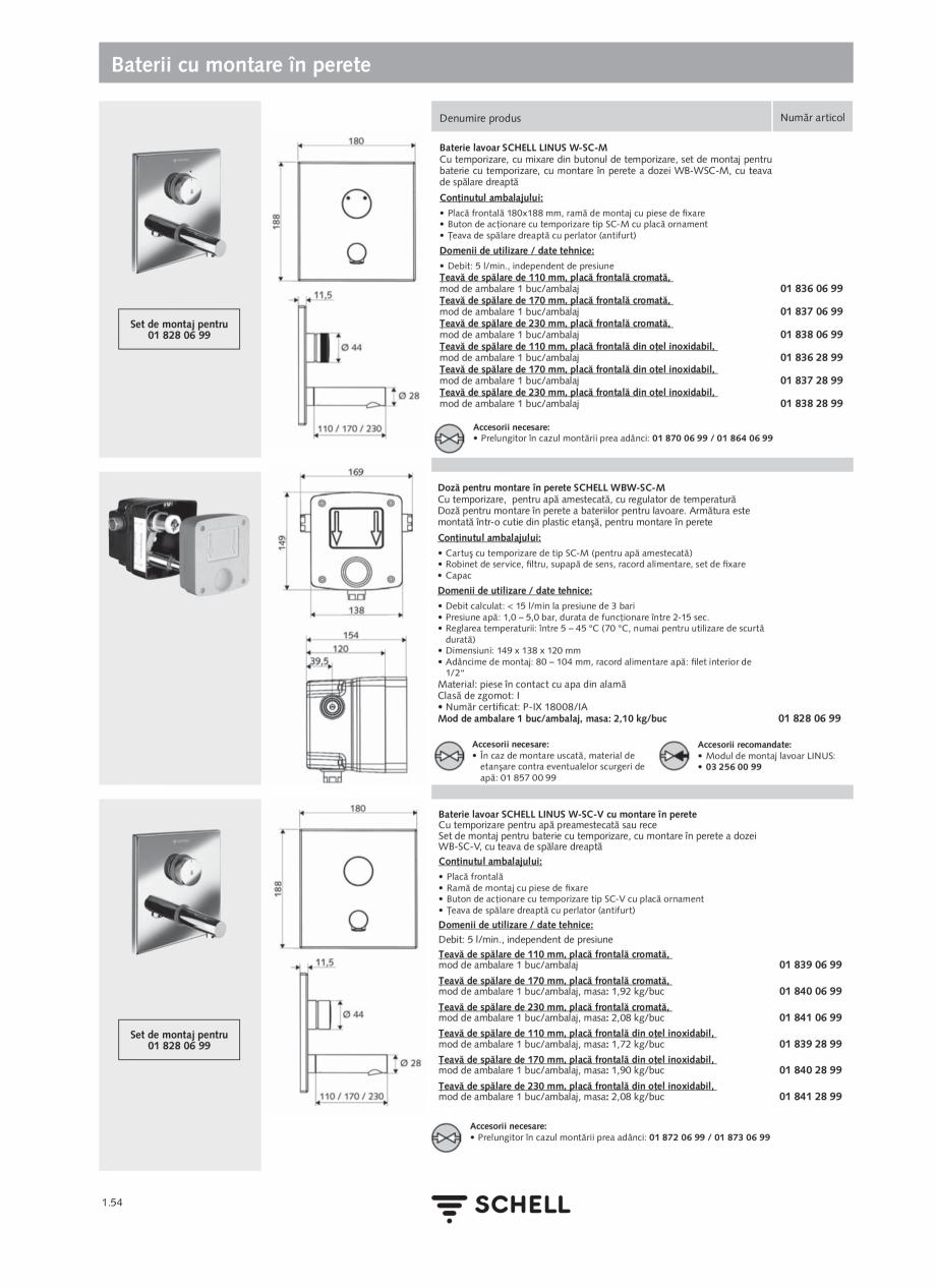 Pagina 72 - Schell - Catalog general - 2020-2021  Catalog, brosura Romana �i Engleză • Interfeţe...