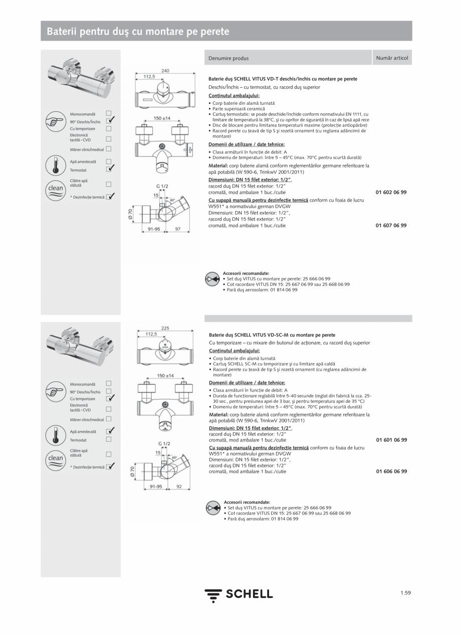 Pagina 77 - Schell - Catalog general - 2020-2021  Catalog, brosura Romana  • Umiditate...