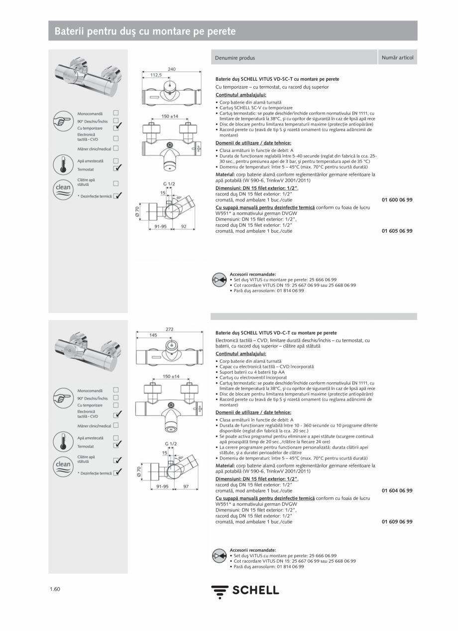 Pagina 78 - Schell - Catalog general - 2020-2021  Catalog, brosura Romana GND pentru ieşiri...