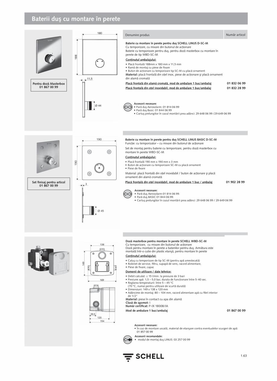 Pagina 81 - Schell - Catalog general - 2020-2021  Catalog, brosura Romana r circular • Niplu...