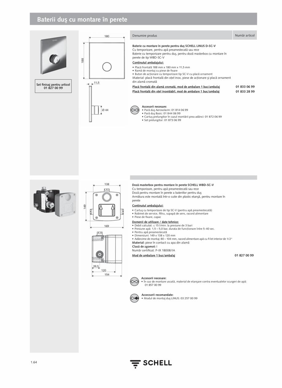 Pagina 82 - Schell - Catalog general - 2020-2021  Catalog, brosura Romana a cablurile de racordul...